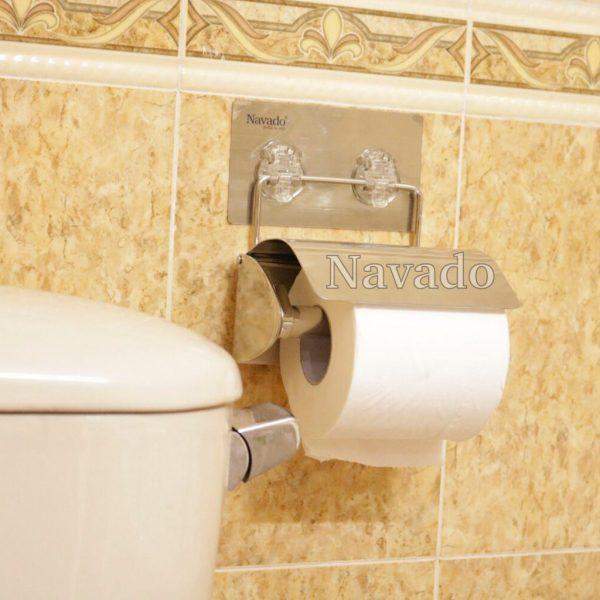 Kệ lô giấy vệ sinh inox cao cấp