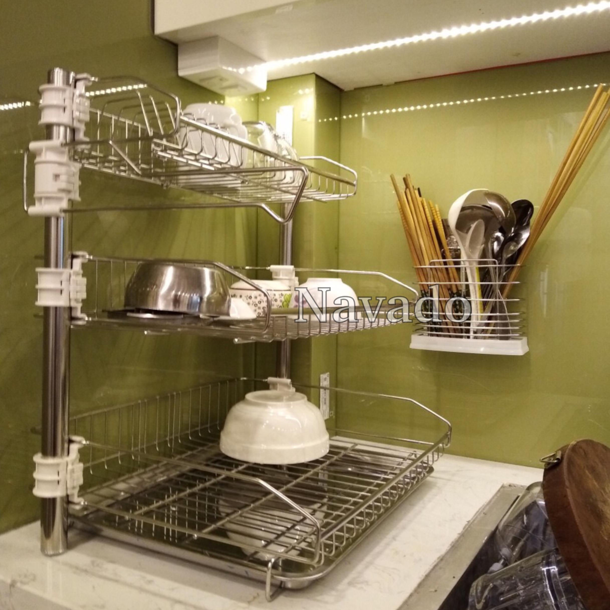 Phụ kiện phòng bếp inox Navado