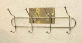 Cách sử dụng móc treo không khoan tường